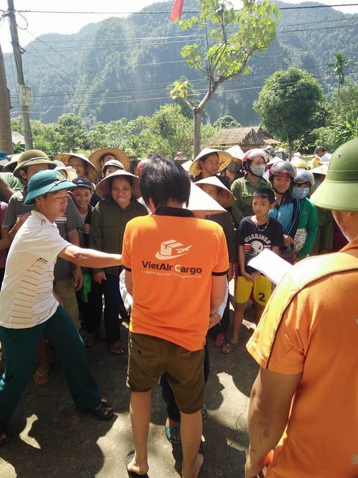 tinh-nguyen 2016 Những Bước Ngoặc Đánh Dấu Sự Trưởng Thành Của VietAir Cargo