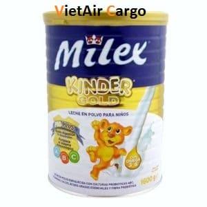 sua-Milex-dan-mach Trẻ sơ sinh uống sữa gì để tăng cân?