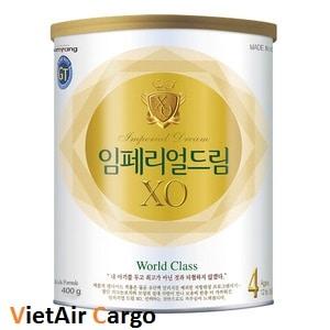 sua-xo-cua-han-quoc Trẻ sơ sinh uống sữa gì để tăng cân?