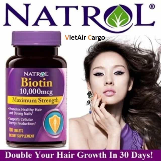 thuc-pham-chuc-nang-collagen-cua-my-biotin-2 Tại sao bạn nên mua thực phẩm chức năng collagen của Mỹ với VietAir Cargo