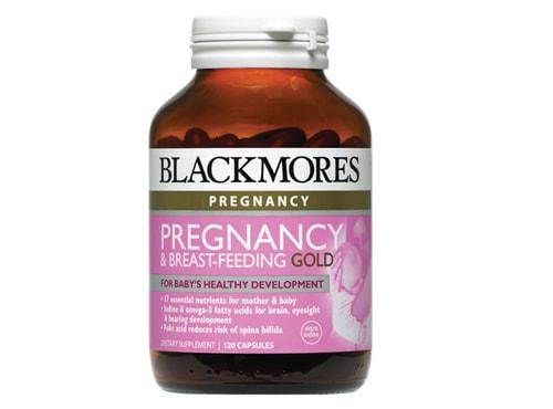 vitamin-cho-ba-bau-Blackmores-Pregnancy-Gold 5 loại vitamin cho bà bầu tốt nhất tại Việt Nam hiện nay.