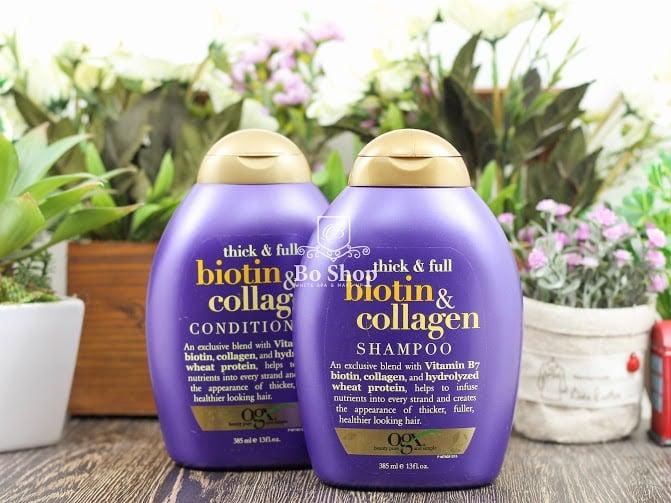 bo-dau-goi-dau-xa-thick-full-biotin-collagen Bộ dầu xả- dầu gội Thick & Full Biotin Collagen