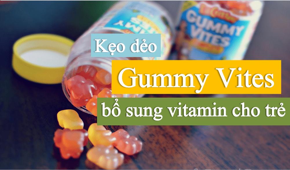 keo-gymmy-vites-bo-sung-vitamin-cho-tre L'IL CRITTERS GUMMY VITES 190 VIÊN-KẸO DẺO BỔ SUNG VITAMIN