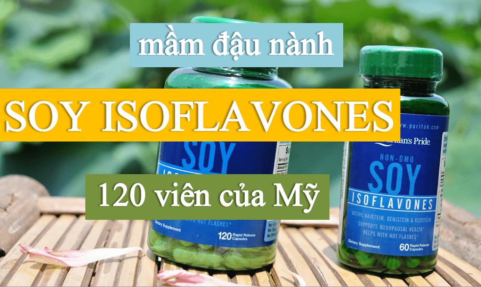 mam-dau-nanh-soy-isoflavones-120-vien-cua-my Viên Uống Mầm Đậu Nành Non Gmo Soy Isoflavones 120 Viên Của Mỹ
