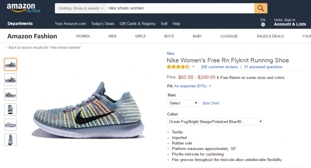 mua-giay-nike-tren-amazon-1024x554 Nhận mua giày Nike, Adidas chính hãng trên amazon.com