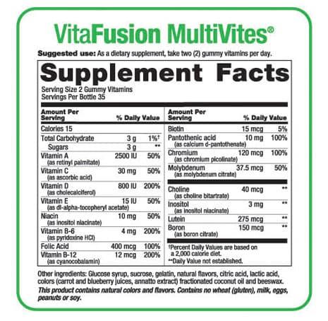 Vitafusion Women's Multivitamin 220