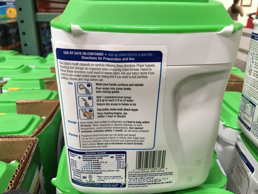 similac-advance-organic-infant-formula-34oz-costco-1024x768 Sữa Similac Advance Organic hữu cơ dành cho bé từ 0-12 tháng 658g nhập từ Mỹ