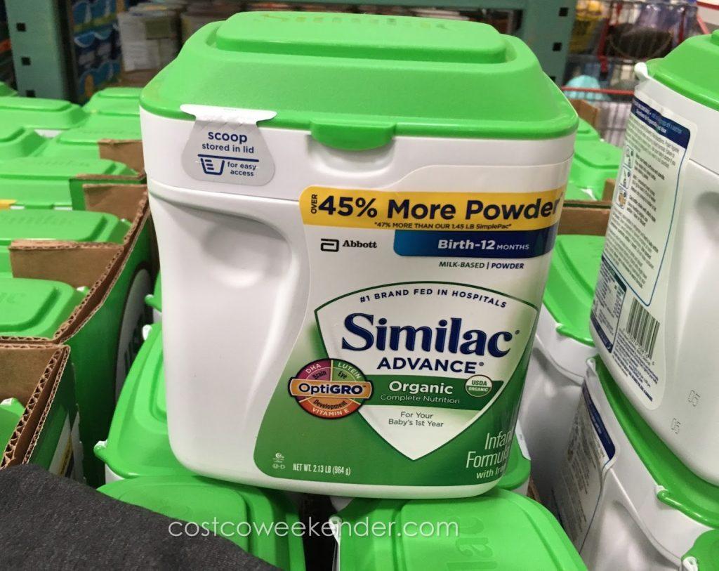 similac-advance-organic-infant-formula-costco-1024x813 Sữa Similac Advance Organic hữu cơ dành cho bé từ 0-12 tháng 658g nhập từ Mỹ