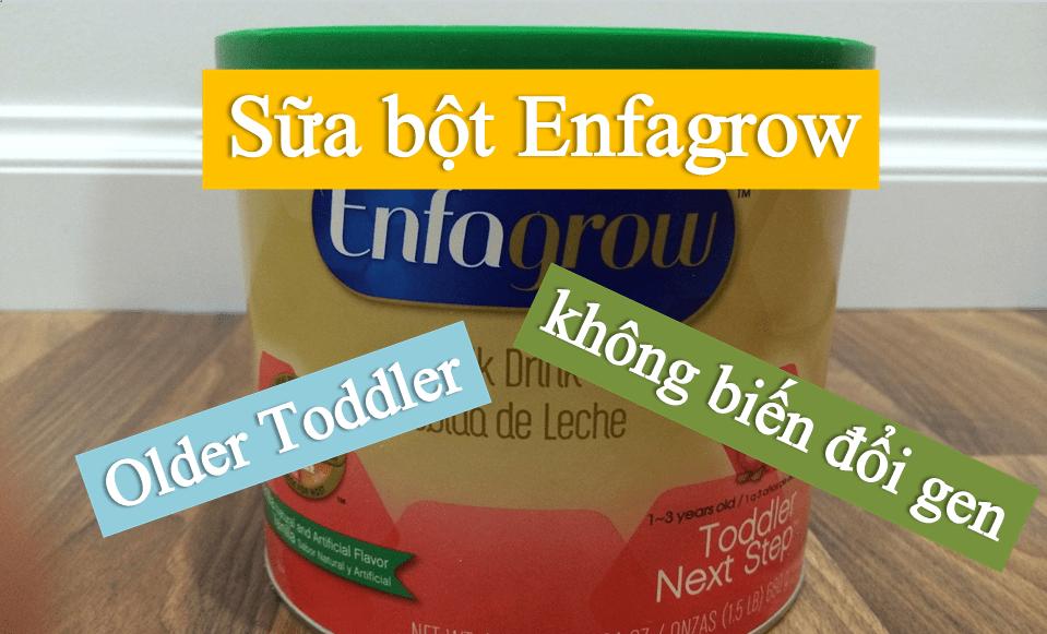 sua-bot-enfagrow-older-toddler-khong-bien-doi-gen Sữa Enfagrow Older Toddler Vanilla số 3 của Mỹ cho trẻ từ 1-3 tuổi