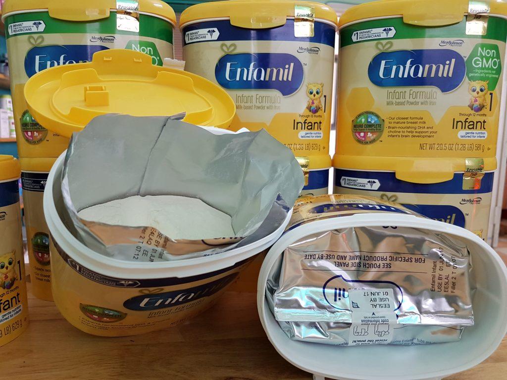 sua-enfamil-non-gmo-1024x768 Sữa Enfamil Non GMO (581g) dành cho bé từ 0-12 tháng tuổi của Mỹ