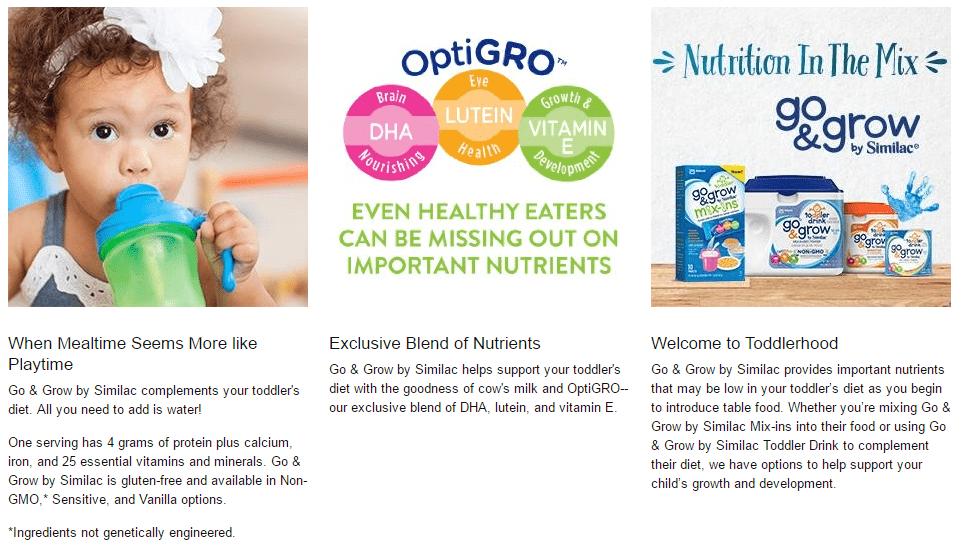 sua-similac-go-and-grow-cua-my Sữa bột Similac Go & Grow (680g) giúp bé yêu phát triển não bộ và thị giác