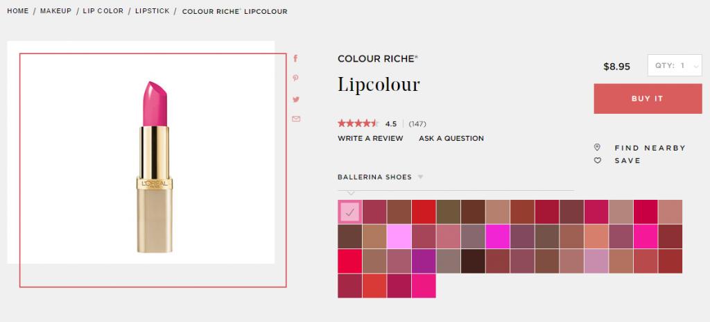 """thoi-son-L'Oreal-Colour-Riche-Lipstick-1024x464 """"Mách nhỏ"""" chị em 5 thỏi son chất lừ giá bình dân năm 2017"""