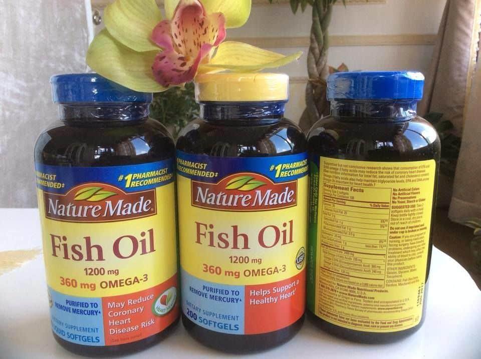 dau-ca-Nature-made Cần tìm dầu cá nature made tốt nhất hiện nay