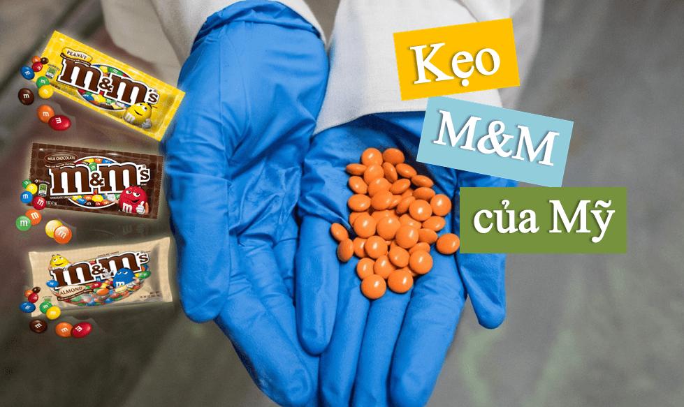 keo-mm-cua-my Kẹo socola M&M – món ngon mà chúng ta khó chối từ!