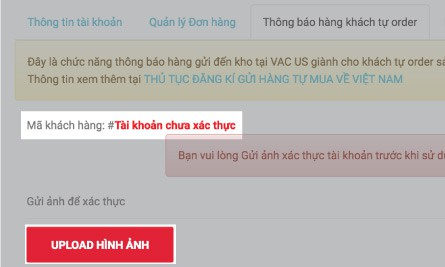 tkchuaxacthuc Instructions to ship self-ordered packages to VN