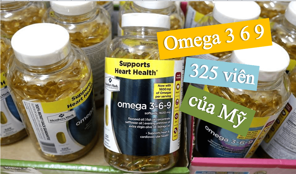 Vien Uống Dầu Ca Omega 3 6 9 Supports Heart Health