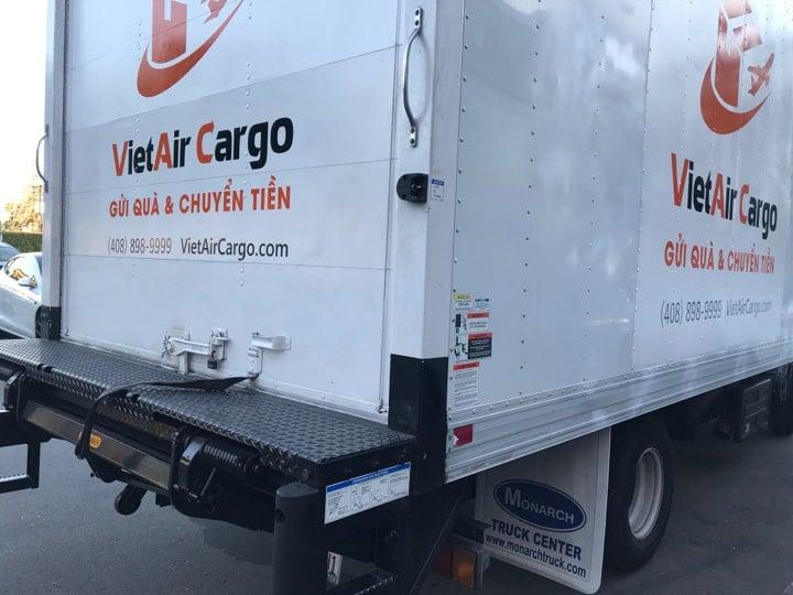 vietair-cargo-san-jose Địa chỉ gửi đồ về Việt Nam từ San Jose uy tín chất lượng