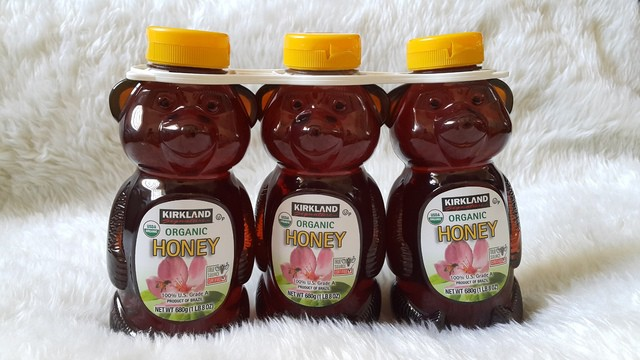 Kết quả hình ảnh cho Mật Ong Honey Bear Kirkland 680g