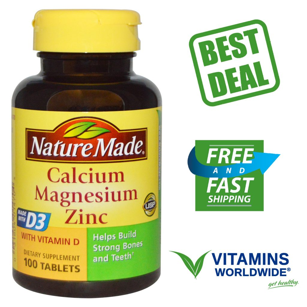 nature-made-calcium-magnesium-zinc-100-tablets-1024x1024 Viên uống Nature Made® Calcium Magnesium Zinc With vitamin D 300 của Mỹ
