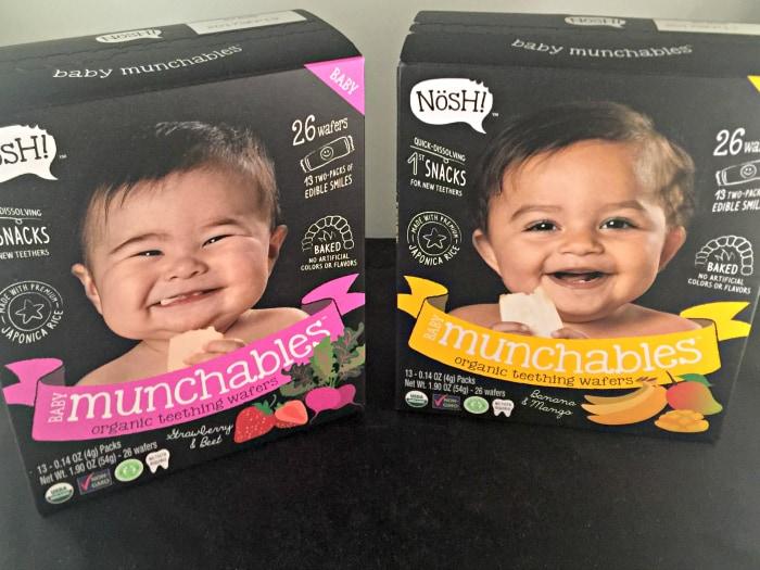 Munchables-snacks-on-the-go-01 Bánh ăn dặm dành cho bé Baby Munchables Nosh 54g của Mỹ