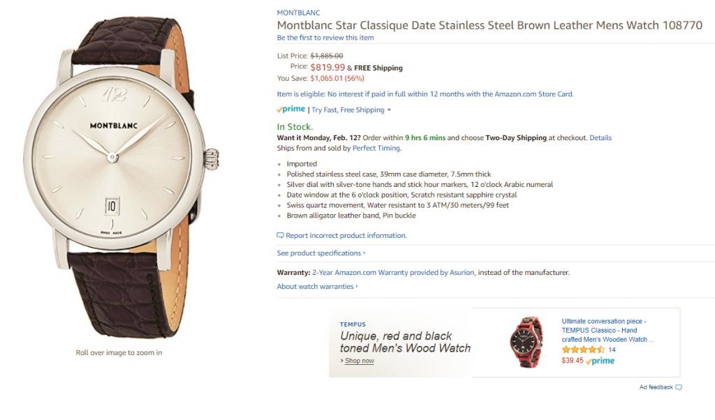 dong-ho-Montblanc-chinh-hang-1024x602 Nhận định về thương hiệu đồng hồ Montblanc