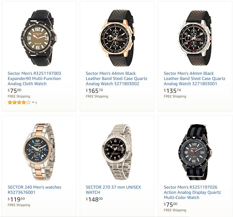 dong-ho-Sector Đôi nét về thương hiệu đồng hồ Sector đến từ Ý