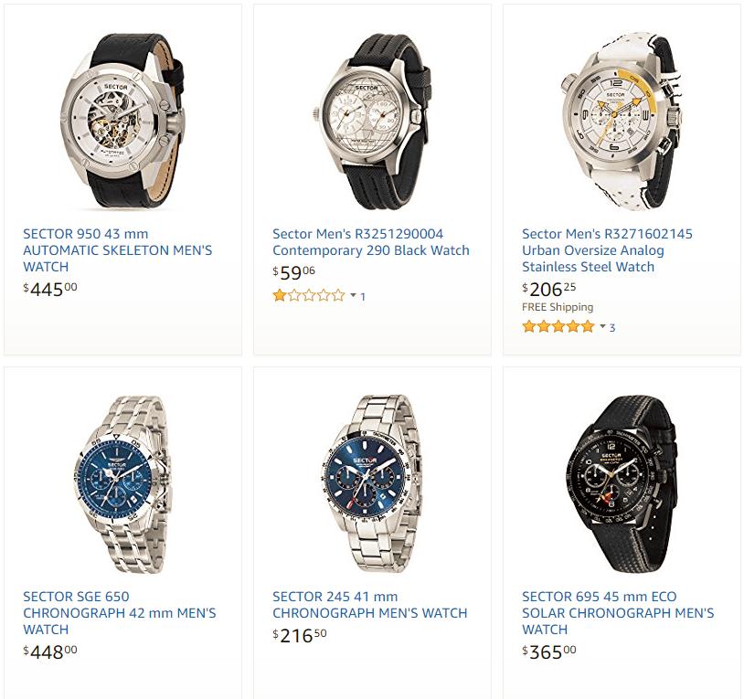 thuong-hieu-dong-ho-Sector Đôi nét về thương hiệu đồng hồ Sector đến từ Ý