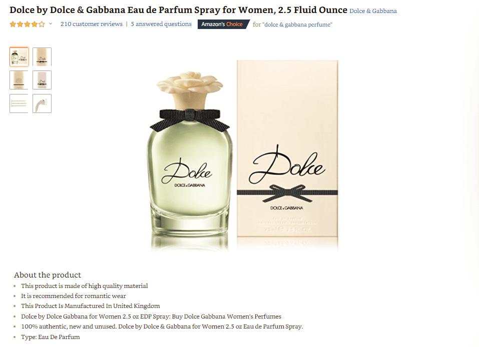 nuoc-hoa-cao-cap-Dolce-Gabbana Những điều bạn cần biết về thương hiệu nước hoa Dolce & Gabbana