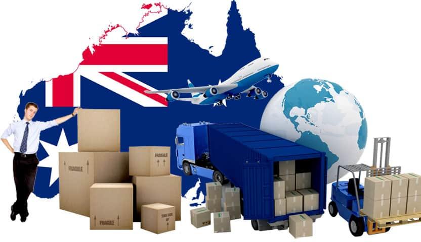 gui-hang-sang-uc Sự phát triển mạnh mẽ của dịch vụ gửi hàng đi Úc nước ngoài