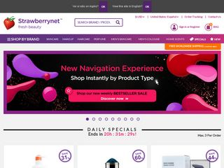 httpsusstrawberrynetcom Online Shopping Websites