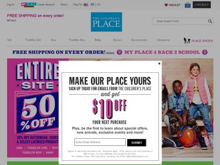 httpswwwchildrensplacecomshopushome Online Shopping Websites