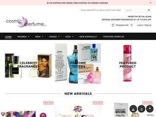 httpswwwcosmicperfumecom Online Shopping Websites
