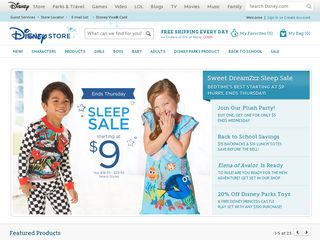 httpswwwdisneystorecom Online Shopping Websites
