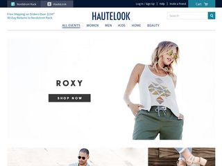 httpswwwhautelookcom Online Shopping Websites