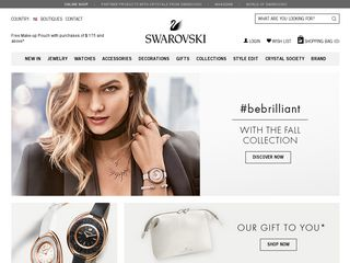 httpswwwswarovskicom Online Shopping Websites