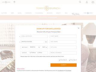 httpswwwtoryburchcom Tổng hợp các trang website mua hàng online ở Mỹ