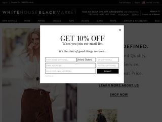 httpswwwwhitehouseblackmarketcomstore Online Shopping Websites