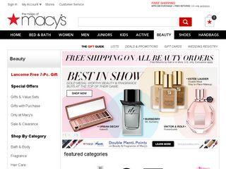 httpwww1macyscomshopmakeupandperfumeid669 Online Shopping Websites