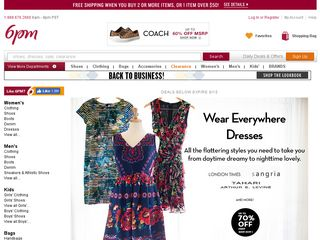 httpwww6pmcom Online Shopping Websites