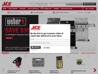 httpwwwacehardwarecom Online Shopping Websites