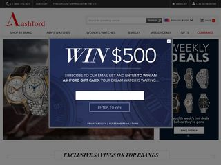 httpwwwashfordcomus Online Shopping Websites