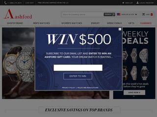 httpwwwashfordcomus Tổng hợp các trang website mua hàng online ở Mỹ