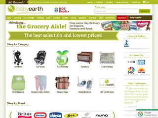 httpwwwbabyearthcom Online Shopping Websites