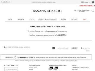 httpwwwbananarepubliccom Online Shopping Websites