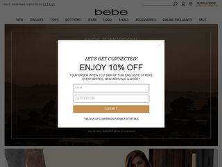 httpwwwbebecom Online Shopping Websites