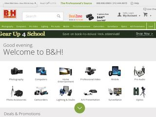 httpwwwbhphotovideocom Online Shopping Websites