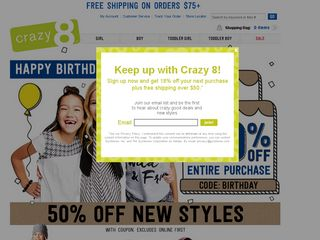 httpwwwcrazy8com Online Shopping Websites