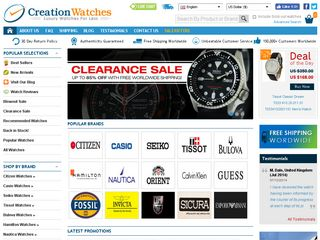 httpwwwcreationwatchescom Online Shopping Websites