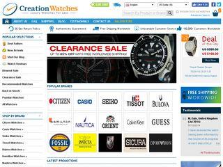 httpwwwcreationwatchescom Tổng hợp các trang website mua hàng online ở Mỹ