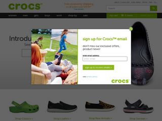 httpwwwcrocscom Online Shopping Websites